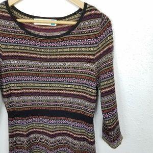11501227e62 Anthropologie Dresses - Anthro Sparrow Clara Fair Isle Sweater Dress Sz M